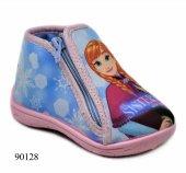 Orijinal Frozen Çocuk Panduf Ev Kreş Ayakkabısı 90128