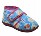 Orijinal Frozen Çocuk Panduf Ev Kreş Ayakkabısı Mavi 90820