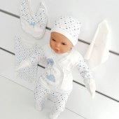 Chery Açık Mavi 7 li Erkek Bebek Hastane Çıkış Seti-2