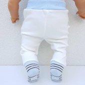 Laci BOSSS Kendinden Çoraplı Erkek Bebek Tek Alt-3