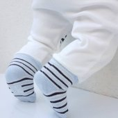 Laci BOSSS Kendinden Çoraplı Erkek Bebek Tek Alt-4