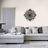Dekoratif Ahşap Saat - Clock Design