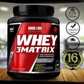 Hardline Whey 3 Matrix 908 Gr Protein Tozu
