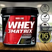 Hardline Whey 3 Matrix Protein Tozu 4000 Gr