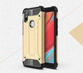 Xiaomi Redmi S2 Kılıf Crash Silikon Kapak + Koruyucu Cam-2