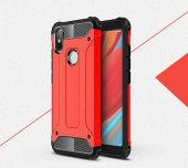 Xiaomi Redmi S2 Kılıf Crash Silikon Kapak + Koruyucu Cam-3