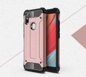 Xiaomi Redmi S2 Kılıf Crash Silikon Kapak + Koruyucu Cam-5