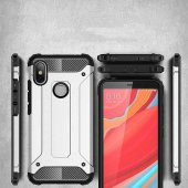 Xiaomi Redmi S2 Kılıf Crash Silikon Kapak + Koruyucu Cam-6