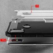 Xiaomi Redmi S2 Kılıf Crash Silikon Kapak + Koruyucu Cam-7