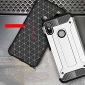 Xiaomi Redmi S2 Kılıf Crash Silikon Kapak + Koruyucu Cam-8