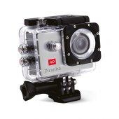 Piranha Aksiyon Kamerası 12 Mp HD Video Kayıt Su Geçirmez Kasa Gri