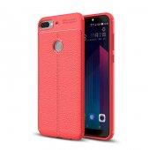 HTC Desire 12 Plus Niss Silikon Kılıf + Ekran Koruyucu Cam-3