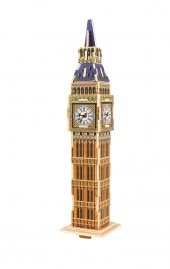 Big Ben Saat Kulesi 3D Ahşap Puzzle MJ204 Robotime