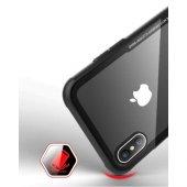 Apple iPhone X Kılıf Craft Arkası Cam Kapak + Ekran Koruyucu Cam-5