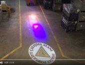 Güvenlik ışığı Dönen LOGO 40W Yansıtıcı Cihaz