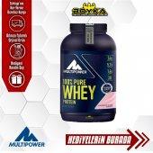 Multipower 100 Pure Whey Protein tozu 900gr(Skt:12/21)+ Hedi̇ye