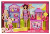 Barbie Sisters Popcorn & Souvenirs Playset-2