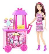 Barbie Sisters Popcorn & Souvenirs Playset-5