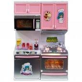 Vardem Mutfak Seti Kapakları Açılabilen Pilli Işıklı Sesli-2