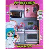 Vardem Mutfak Seti Kapakları Açılabilen Pilli Işıklı Sesli-4