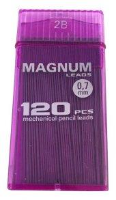 Magnum 0.7 Kalem Ucu 120li 60 Mm. 2b Şeffaf Mor No 17
