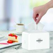 R 1332 Beyaz Modern Mini Masaüstü Peçete...