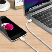 USB 3.1 Type C - Apple Lightning Dönüştürücü Kablo 1 Metre-2