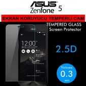 Asus Zenfone 5 Ekran Koruyucu Cam Temperli Cam