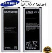 Samsung Galaxy Note 4 Orjinal Batarya Pil N910 Orjinal
