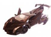 Uzaktan Kumandalı Araba Spor 1:16 Büyük Şarjlı Lamborghini 27cm-4