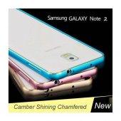Samsung Galaxy Note 2 Kılıf Metal Bumper Çerçeve-2