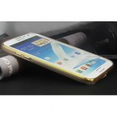 Samsung Galaxy Note 2 Kılıf Metal Bumper Çerçeve-4