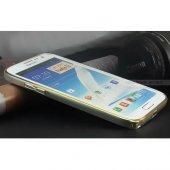 Samsung Galaxy Note 2 Kılıf Metal Bumper Çerçeve-6