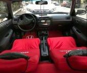 Honda Kırmızı Renk Ön Koltuk Penye Kılıf + Honda Sıyah Boyun Yas