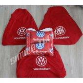 Volkswagen Ön Arka Servis Kılıfı 2 Adet Yastık 2 KEMER 3 Adet St