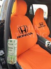 Honda Turuncu Ön Koltuk Penye Servis Kılıfı Bambu Koku Hediye
