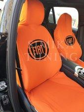 Fiat Turuncu Ön Koltuk Penye Servis Kılıfı