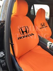 Honda Turuncu Ön Koltuk Penye Servis Kılıfı