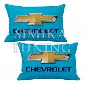 Chevrolet Logolu 2 Li Boyun Yastığı 5 Renk Çeşidi Arkası Lastikl