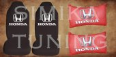Honda Siyah Renk Penye Ön Koltuk Kılıf + Boyun Yastığı