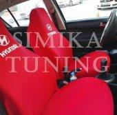 Hyundai Kırmızı Ön Koltuk Penye Kılıf