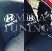Hyundai Siyah Ön Ve Arka Koltuk Kılıf
