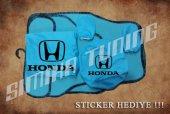 Honda Turkuaz Ön Arka Koltuk Direksiyon Seti Paspas Sticker