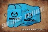 Mazda Turkuaz Ön Arka Koltuk Direksiyon Seti Paspas Sticker