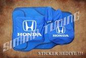 Honda Sax Mavi Ön Arka Koltuk Direksiyon Seti Paspas Sticker