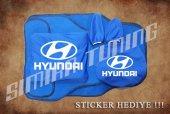 Hyundai Sax Mavi Ön Arka Koltuk Direksiyon Seti Paspas Sticker