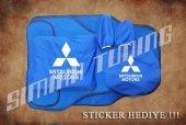 Mitsubishi Sax Mavi Ön Arka Koltuk Direksiyon Seti Paspas Sticke