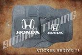Honda Siyah Ön Arka Koltuk Direksiyon Seti Paspas Sticker