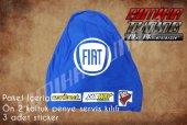 Fiat Sax Mavi Renk Ön Penye 3 Sticker