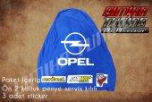 Opel Sax Mavi Renk Ön Penye 3 Sticker